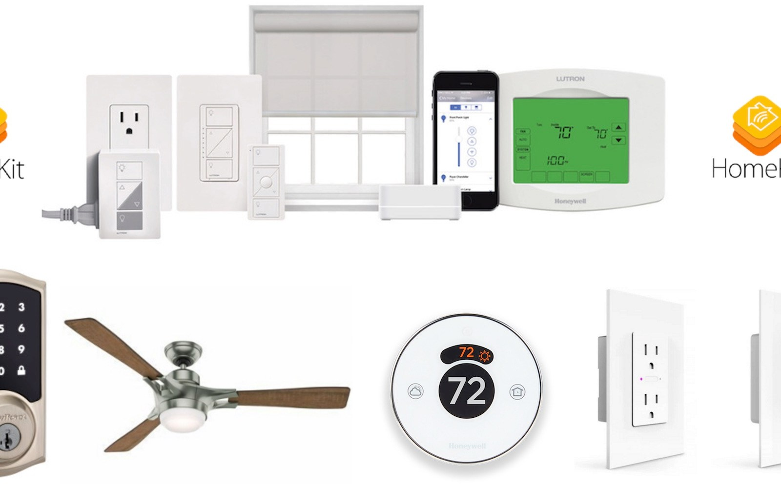 Apple's HomeKit at CES 2016: ceiling fans, door locks, switches, thermostats, & more