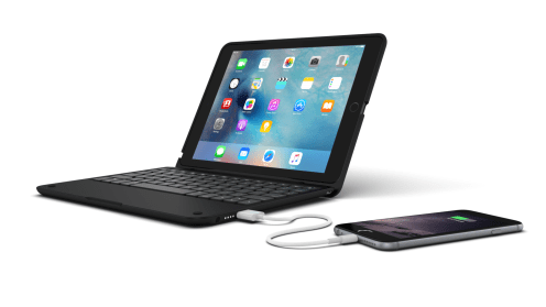 ClamCase+ Power for iPad Air 2