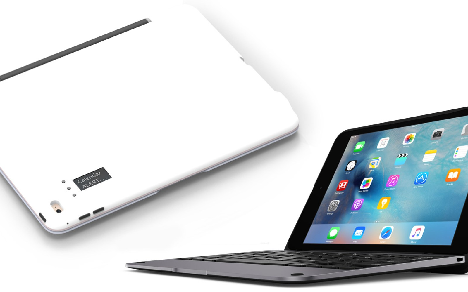 Incipio debuts ClamCase keyboards for iPad Pro, mini 4 + Air 2, adds power, notifications