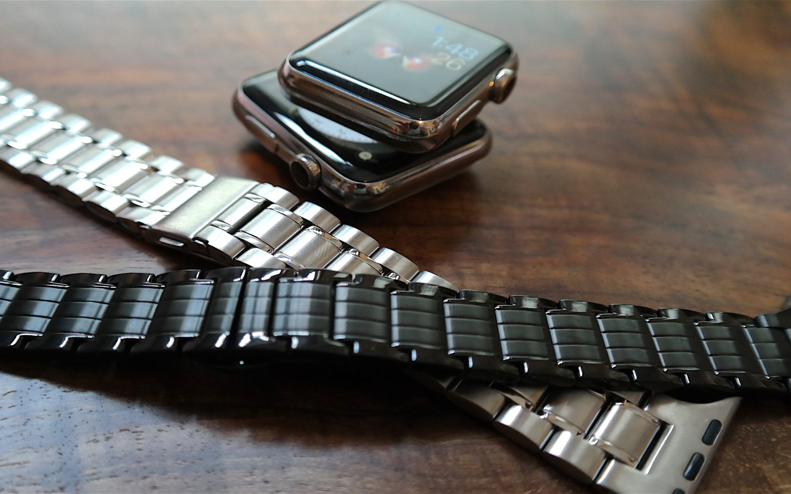 a65690074a35f Review: Hyper's $69 stainless steel Apple Watch bands in silver ...