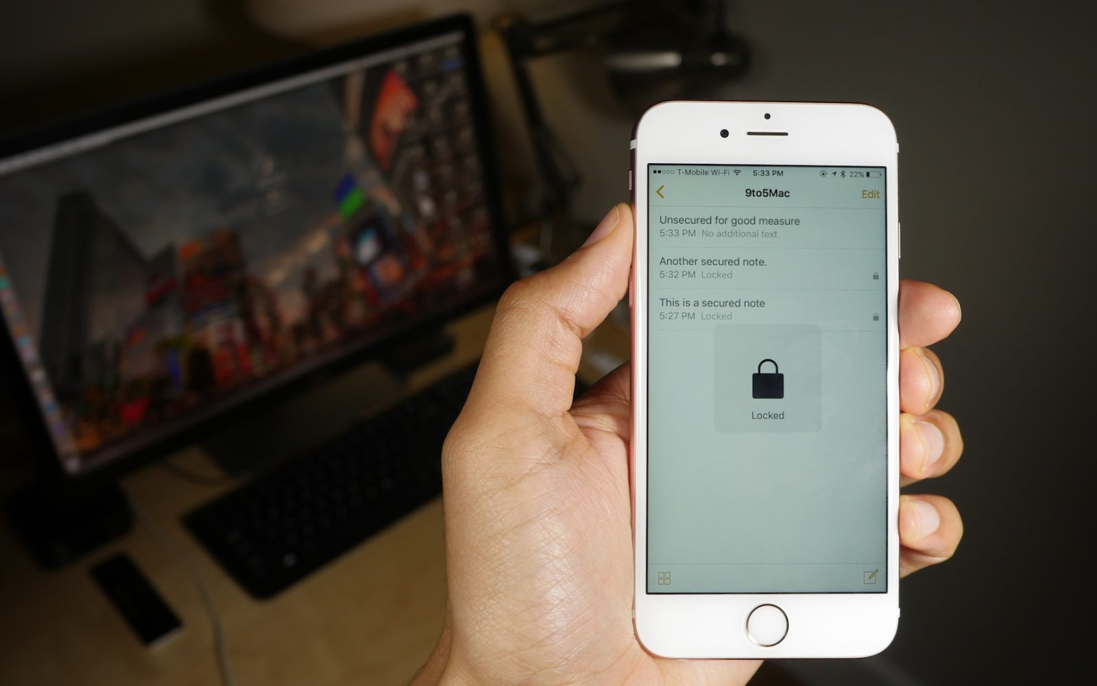 How-To: Set up and use password-protected Notes on iOS 9 3 [Video