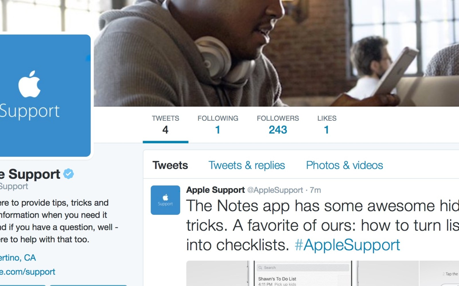 Apple launches official company Twitter account for tips, tricks and customer support queries