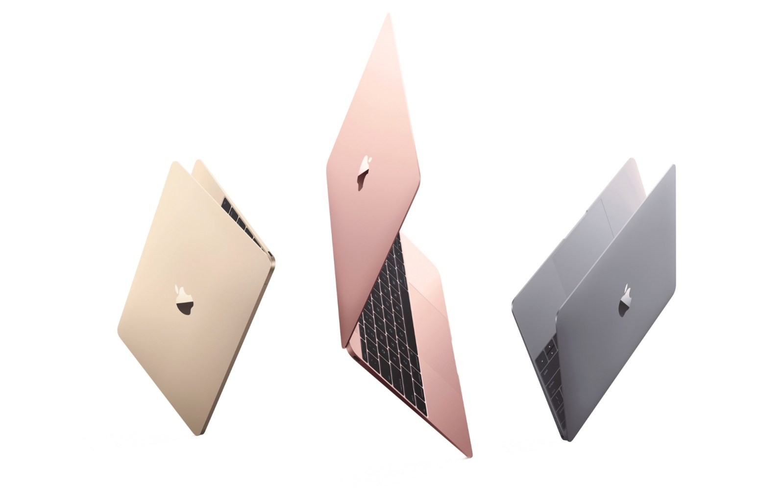 Apple releases new 12-inch Retina MacBook: new processors, rose gold, better battery life
