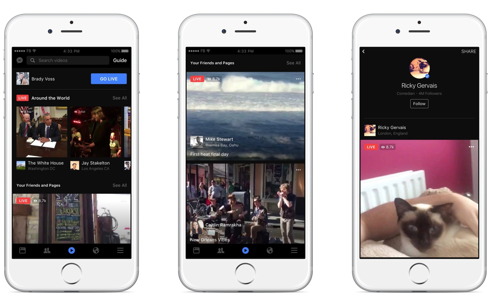 Facebook Live update brings ability to go live in Groups, interactive features, more