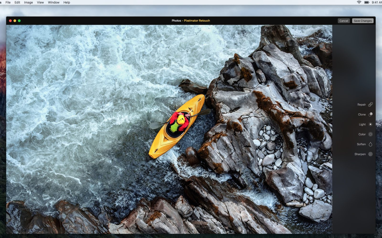 Pixelmator for Mac update adds Magnetic Selection, Retouch