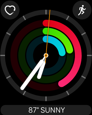 Watch Face - Activity Analog