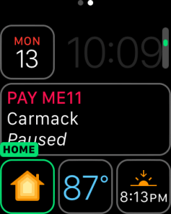 watchOS 3 Complication - Home