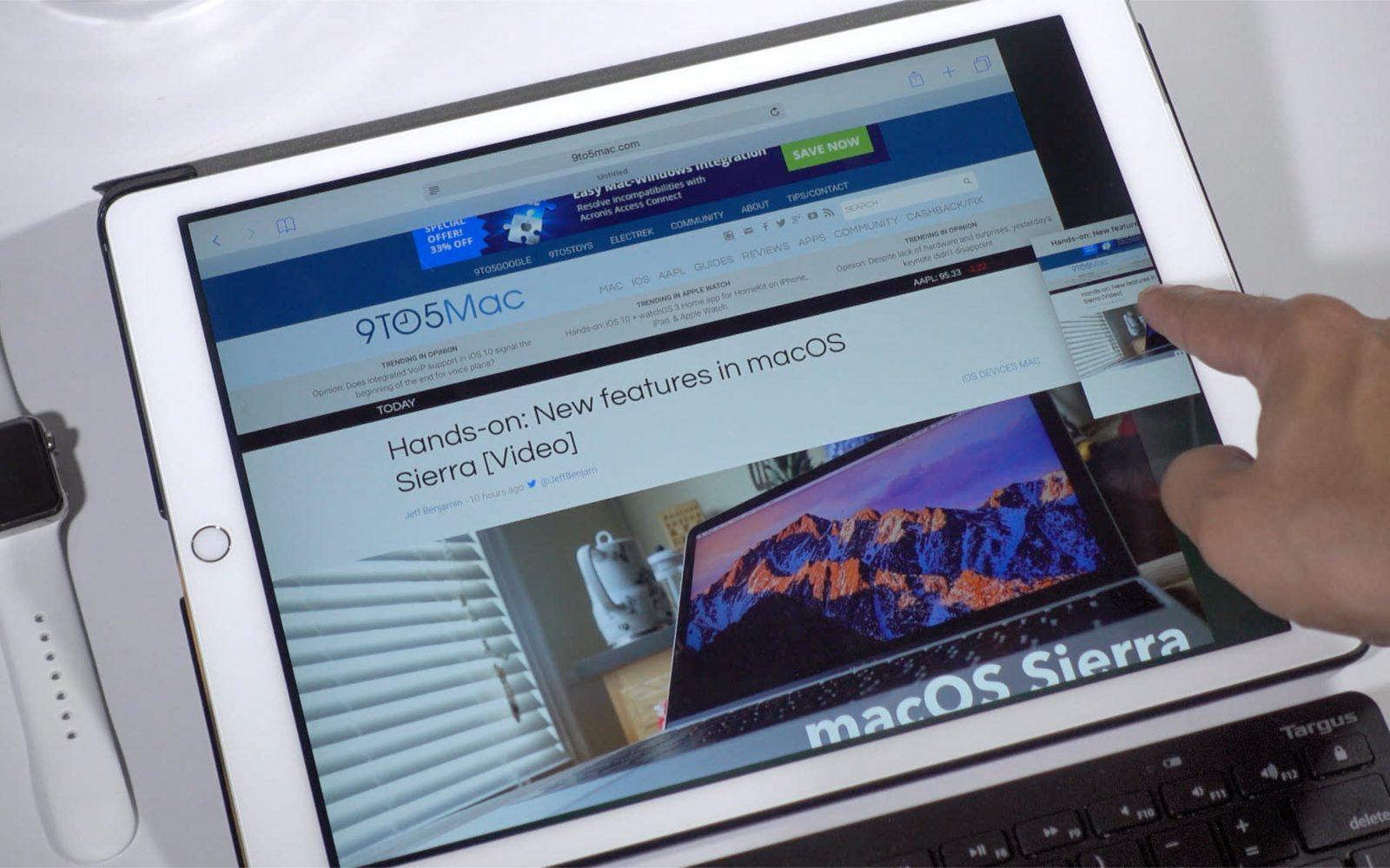 How-To: Use Split View in Safari on iPad [Video] - 9to5Mac