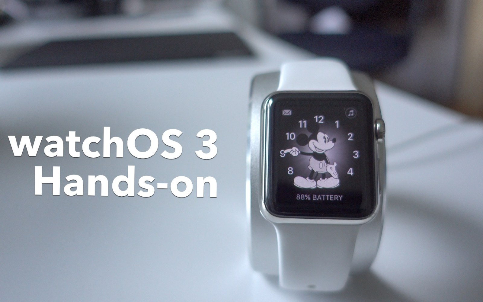 Hands-on: New features in watchOS 3 [Video]