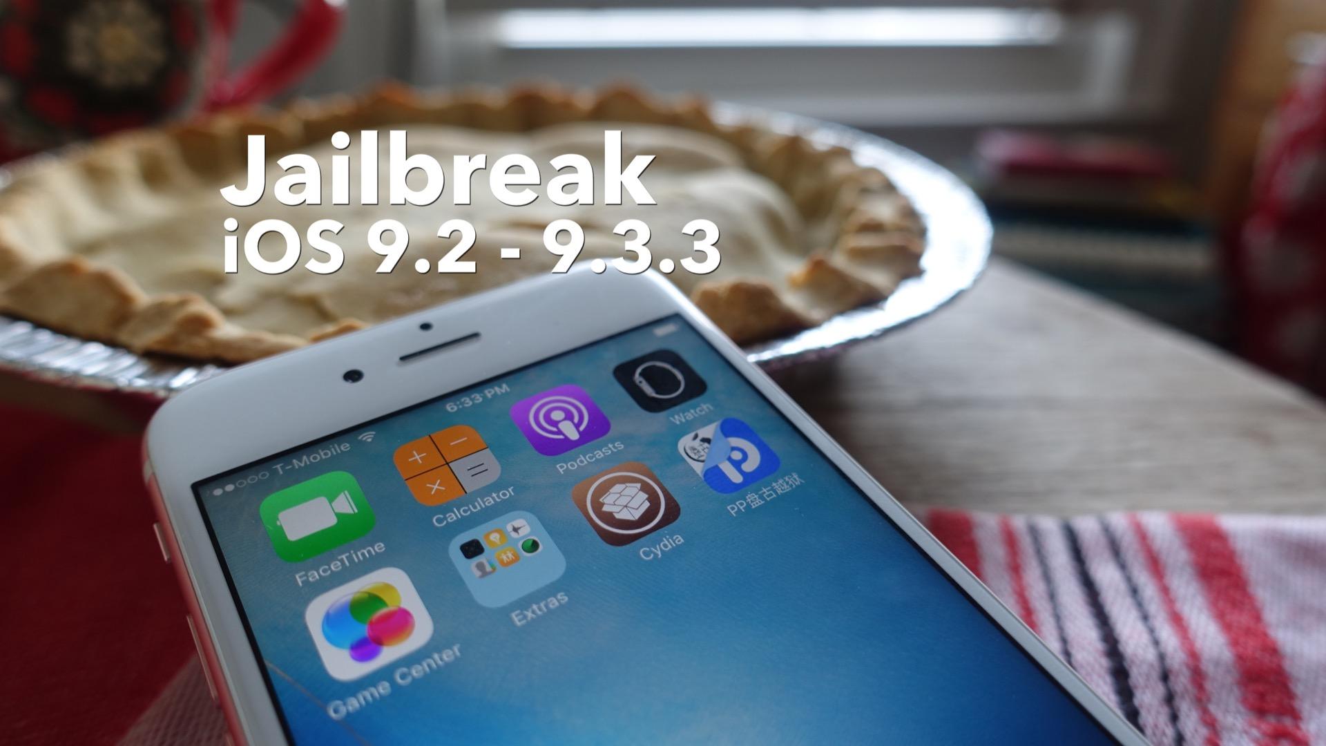 How-To: jailbreak iOS 9.2 - 9.3.3 with the Chinese Pangu tool [Video
