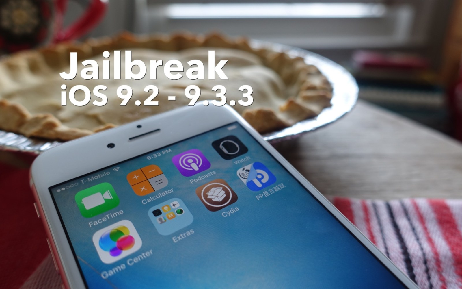 How-To: jailbreak iOS 9.2 – 9.3.3 with the Chinese Pangu tool [Video]