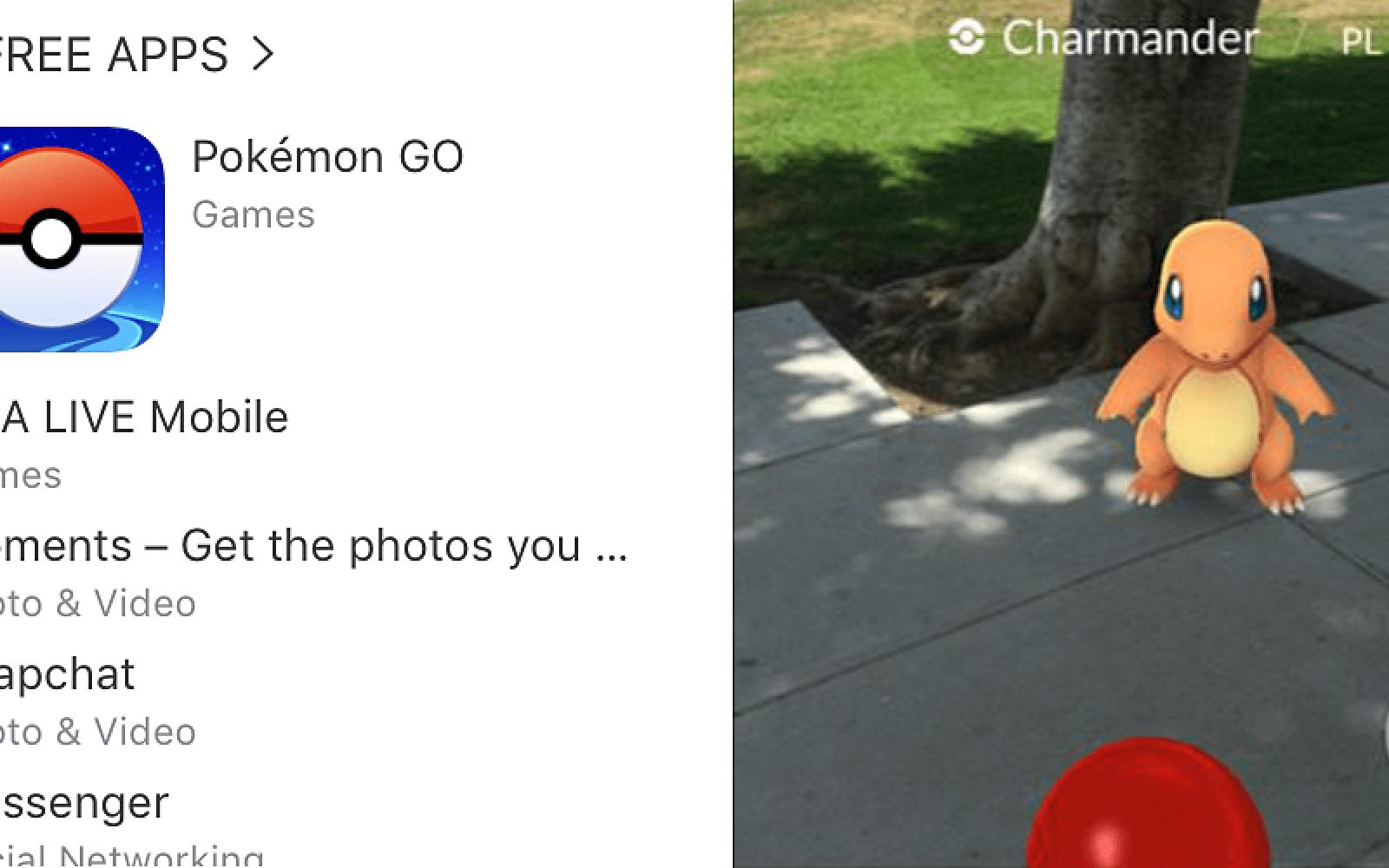 Pokémon GO tops the app charts as Australian police warn