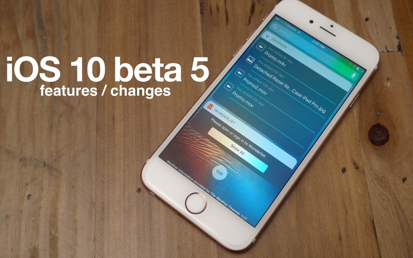 Hands-on: New iOS 10 beta 5 features + changes [Video]