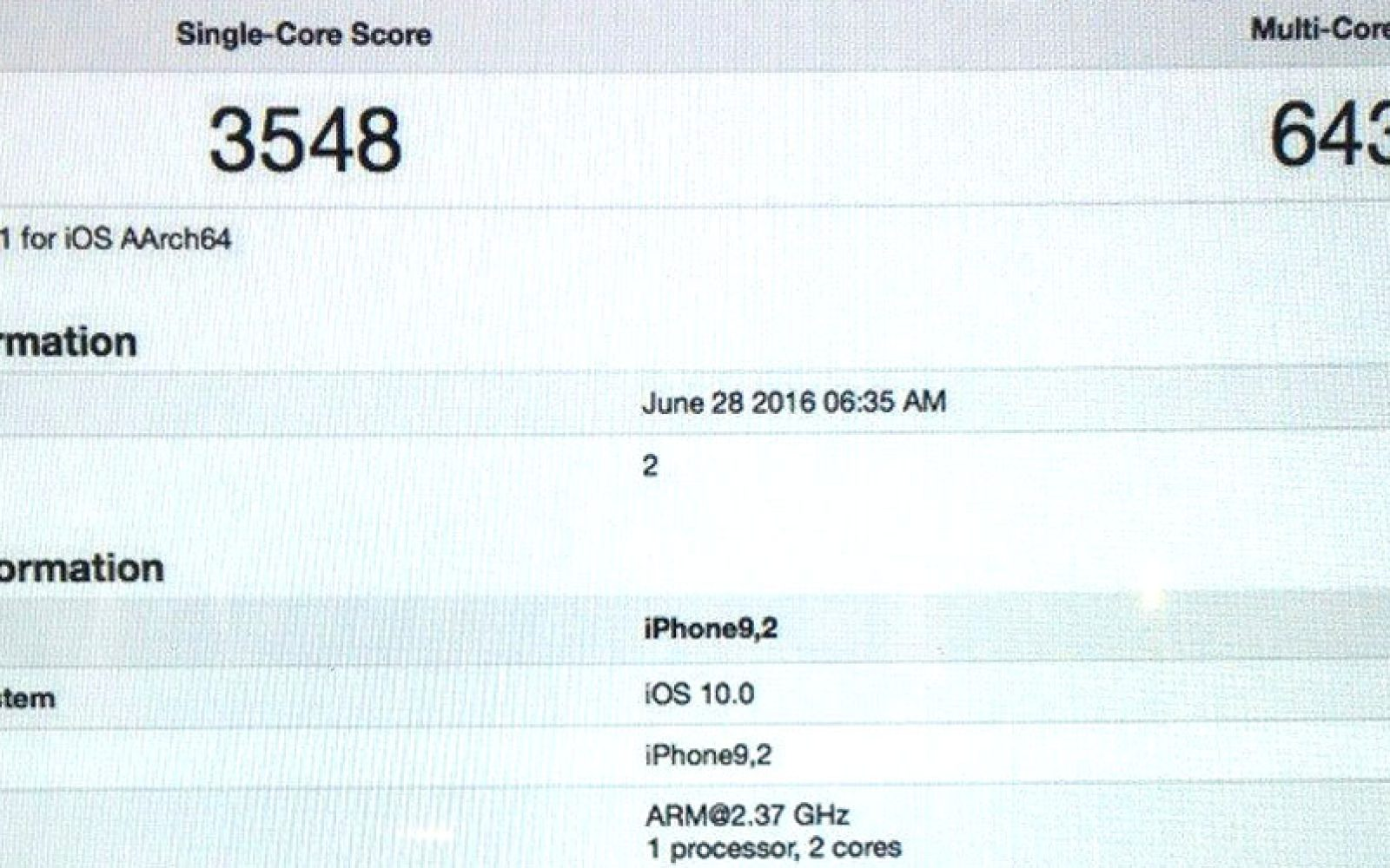 Sketchy Geekbench Test Of Iphone 7 Emerges Following Purported 4 Diagram Logic Board Photos U Fake