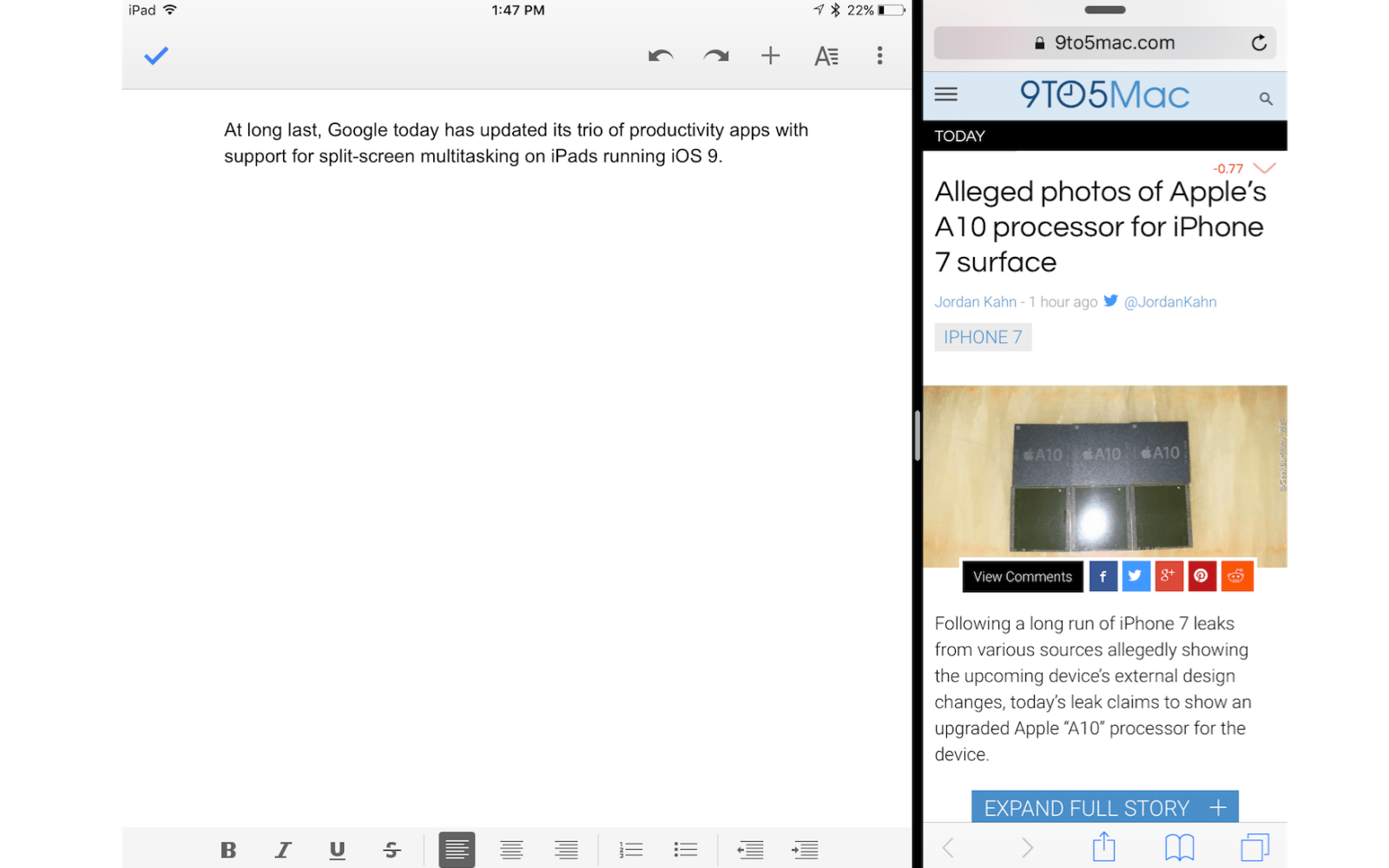 Google updates Docs, Sheets, and Slides with support for