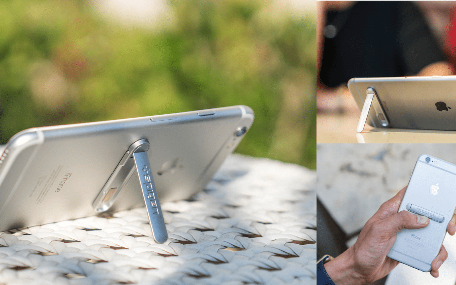 Spigen's Universal Metal Kickstand adds a sleek built-in stand to iPhone for $10 [Video]