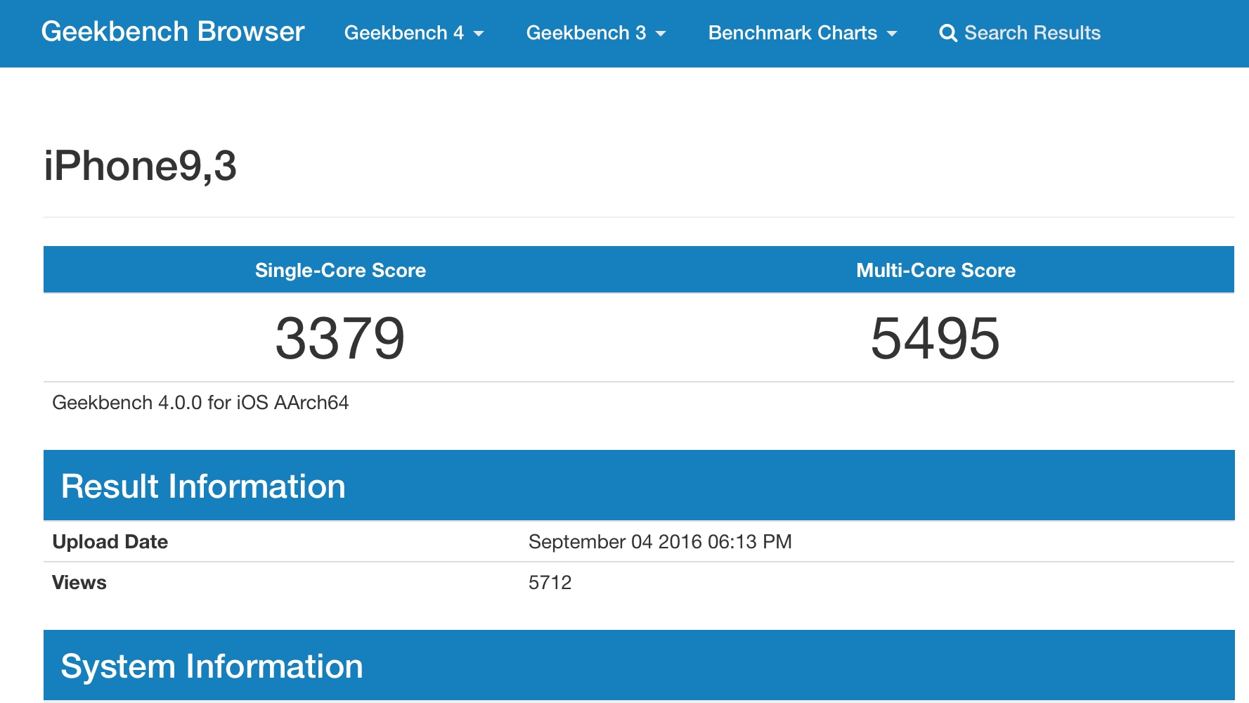 Geekbench 3 Vs 4 GeekBench 4 Geekbench Discussion Area
