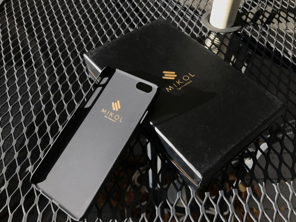 Underside of Nero Marquina Marble iPhone case