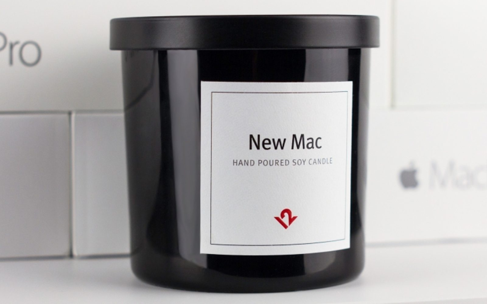 Love that new Mac smell? Now you can buy a candle that