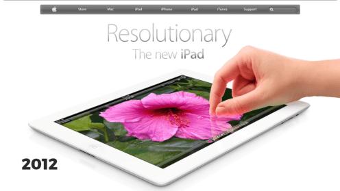 Retina iPad, 2012
