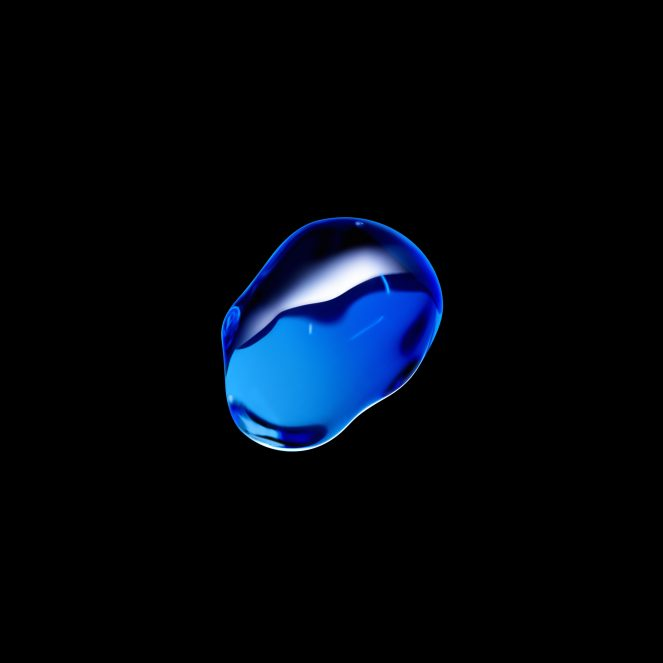 Droplet Blue