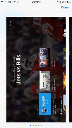 Twitter iOS App Store Apple TV Screenshots View