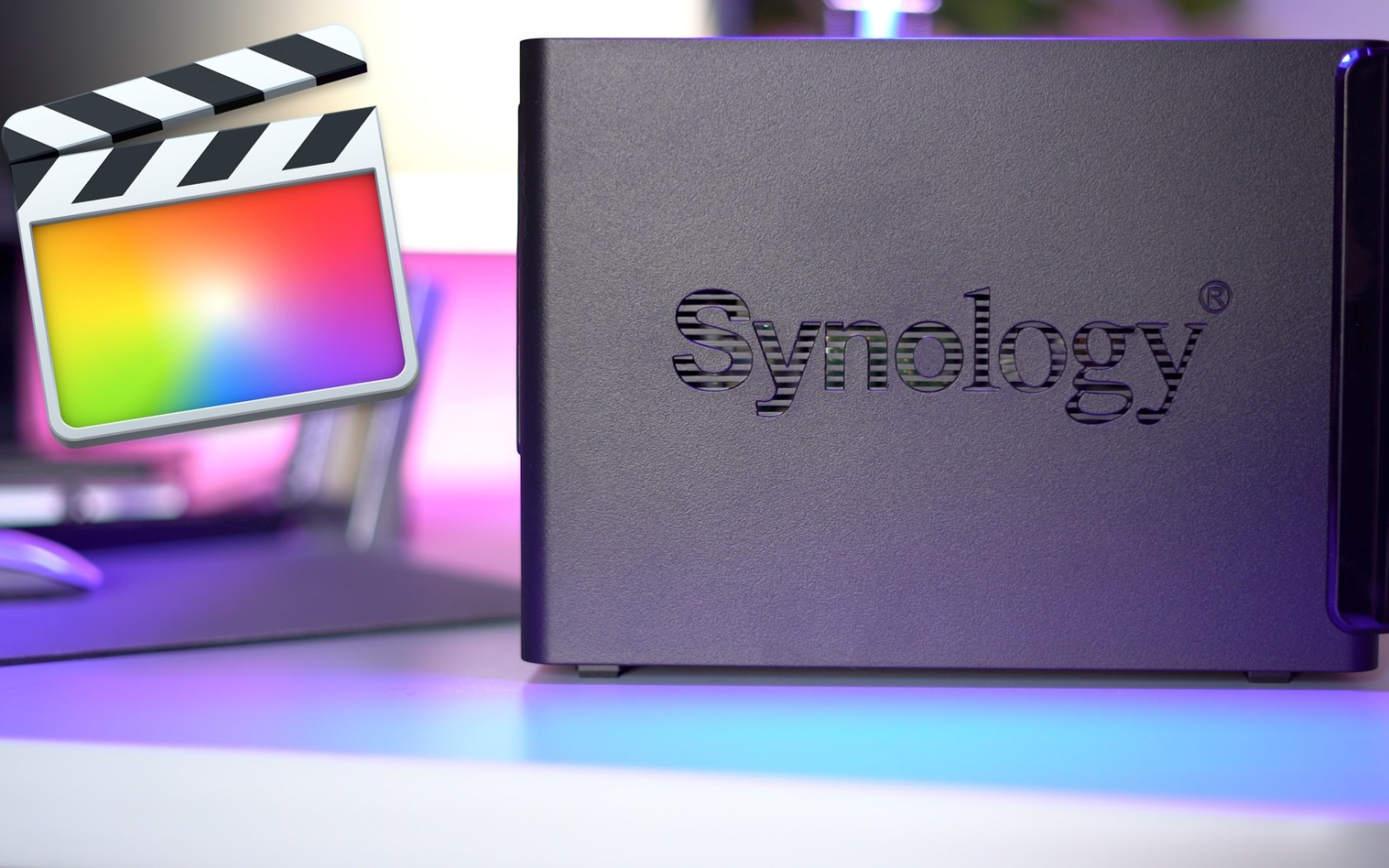 How to store Final Cut Pro X libraries on a NAS by using a disk image workaround [Video]