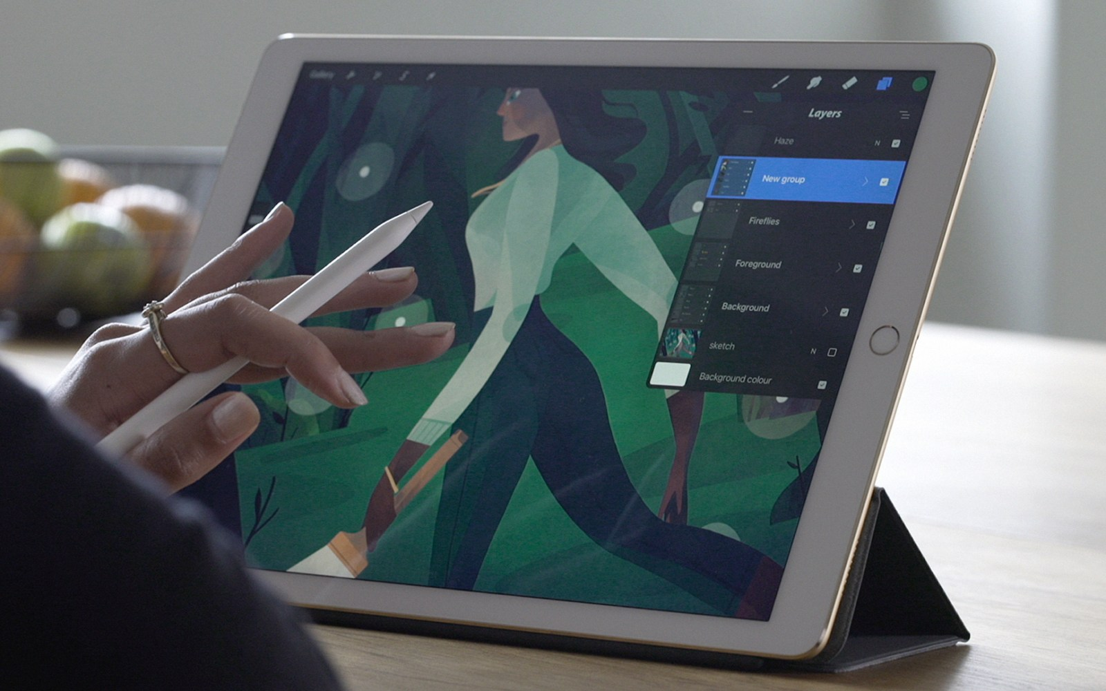 Procreate for iPad adds Photoshop PSD import, screen capture/live streaming, keyboard shortcuts and more