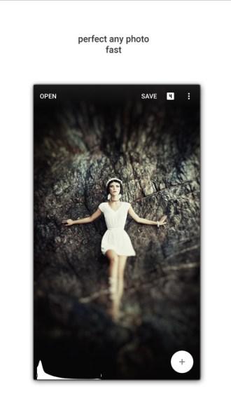 SnapSeed App Store Screen 1