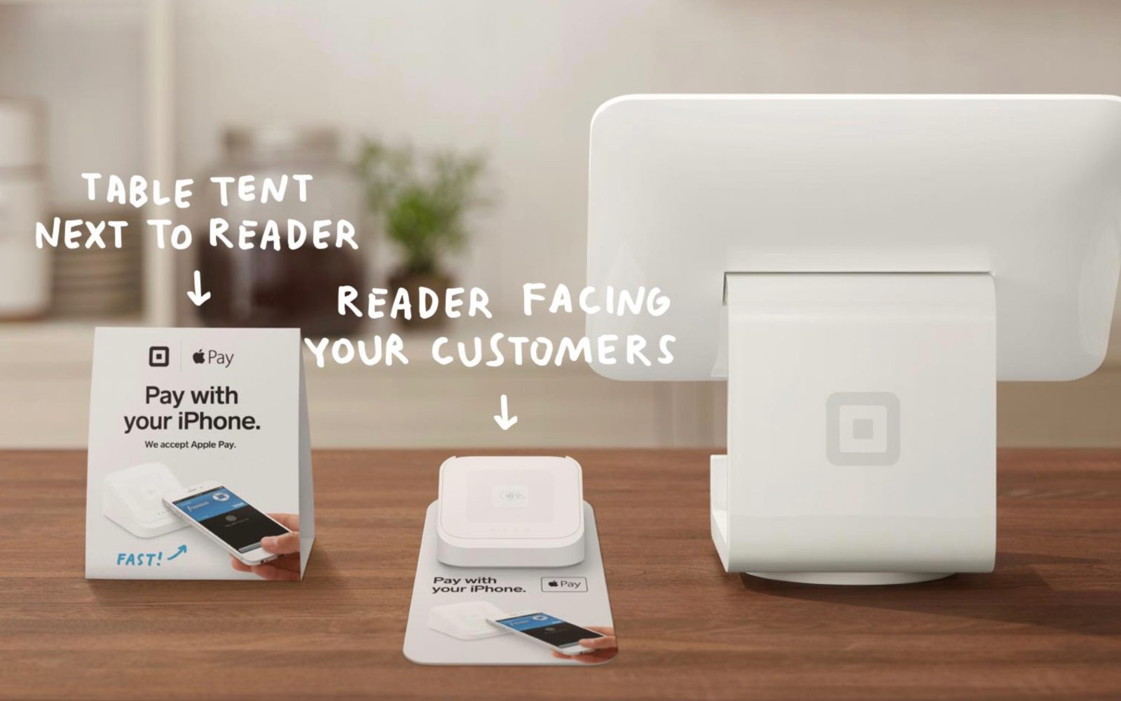 Square promoting Apple Pay for small businesses with free