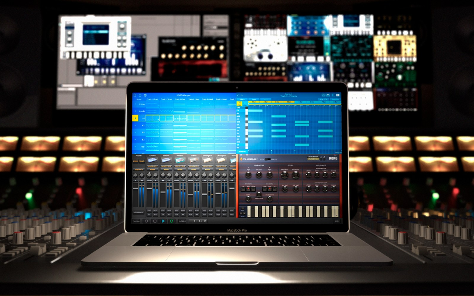 Korg's powerful iOS Gadget music production app is coming to the Mac w/ full DAW support