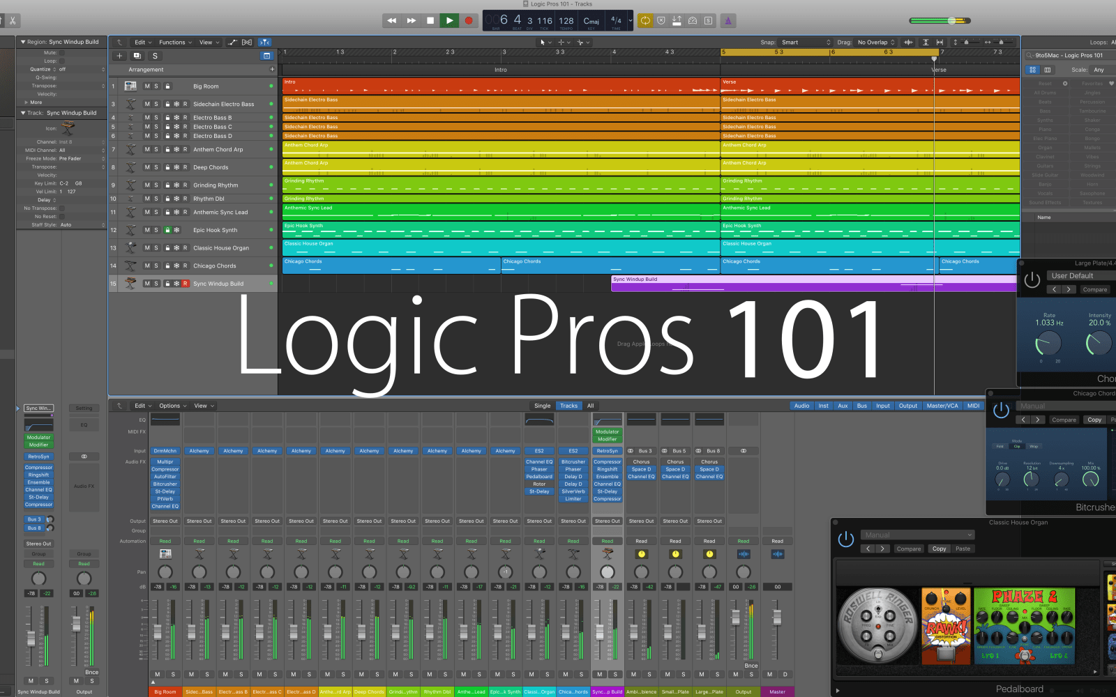 Logic Pros (101): Getting started with Logic Pro X – The interface