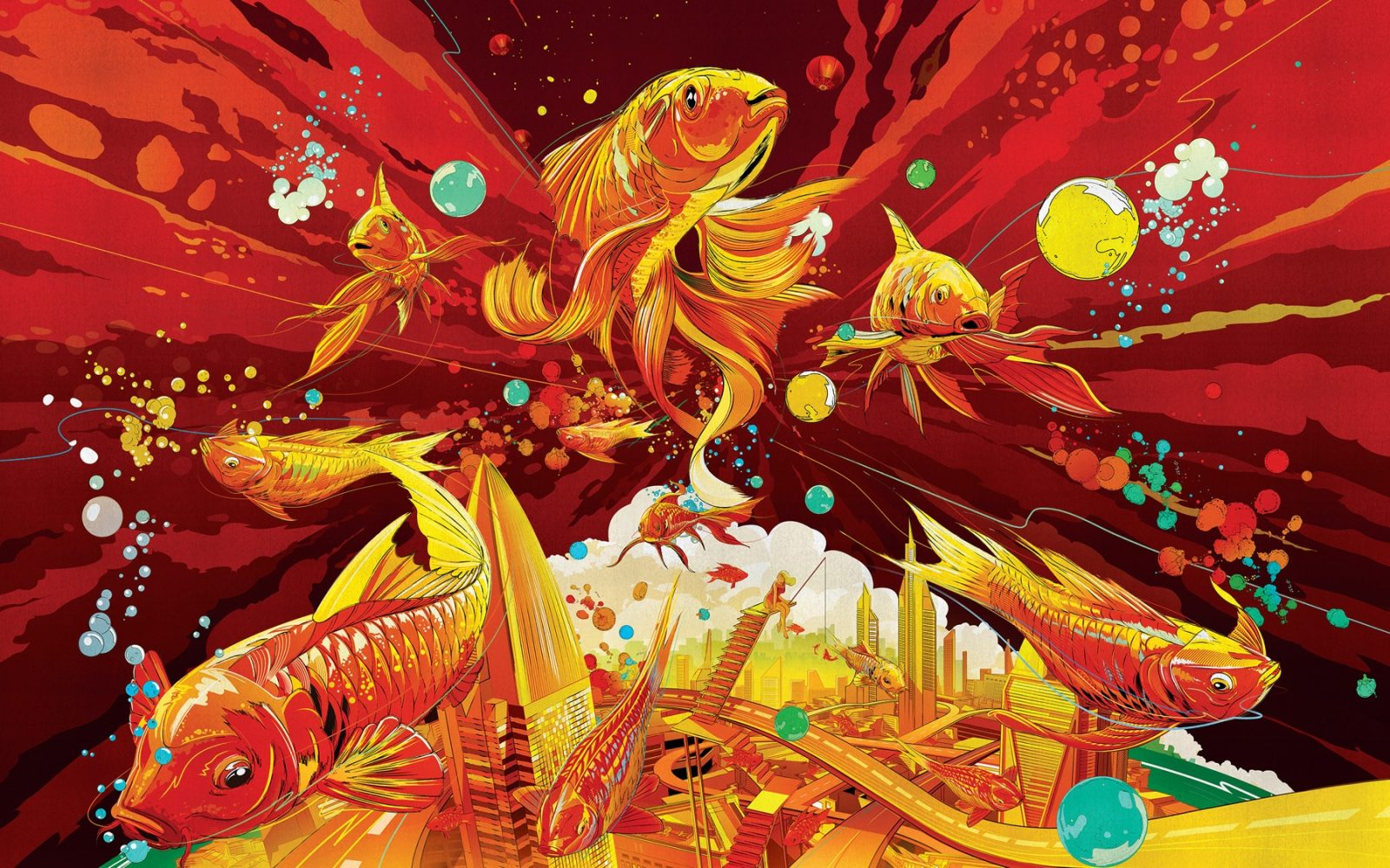apple features artwork to celebrate the chinese new year with wallpapers for mac iphone and ipad
