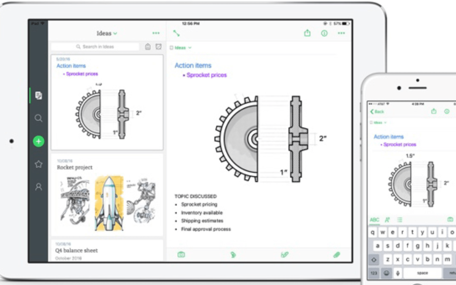 Evernote for iOS updated with interface refresh, navigation improvements, and more