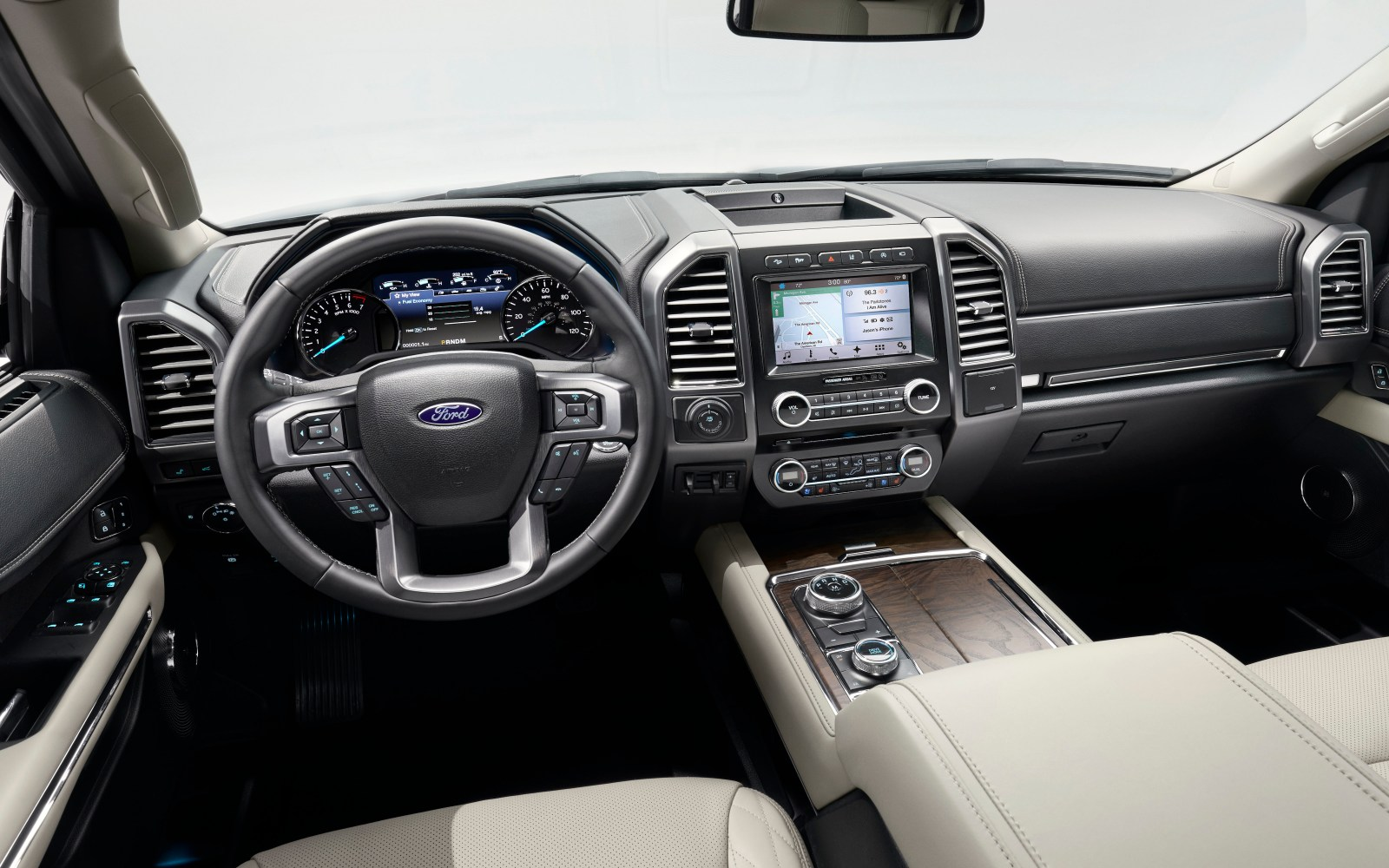 Ford Unveils All New  Expedition As Latest Vehicle With Apples Carplay Wireless Charging Pad Wi Fi Hotspot