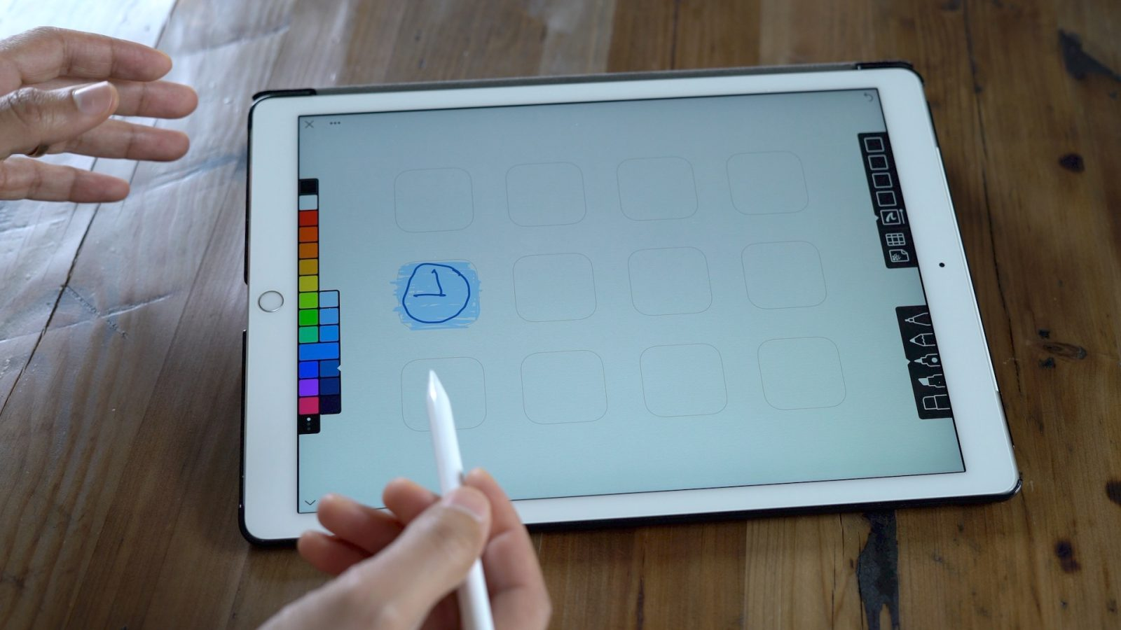 Linea sketching app for Apple Pencil updated for 10.5-inch ...