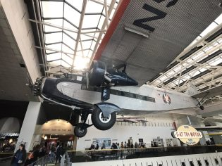 National Air and Space Museum - American Airways plane w/ ExoLens