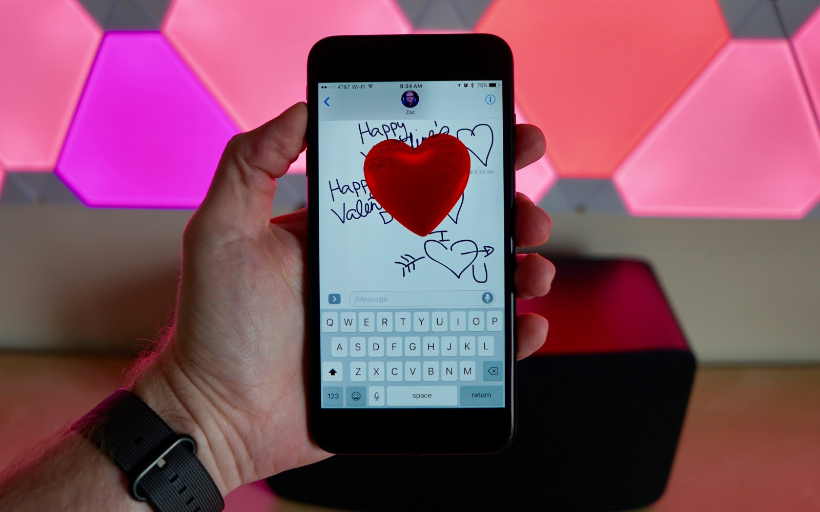 How To Send Love Screen Effect Handwritten Notes And More Over