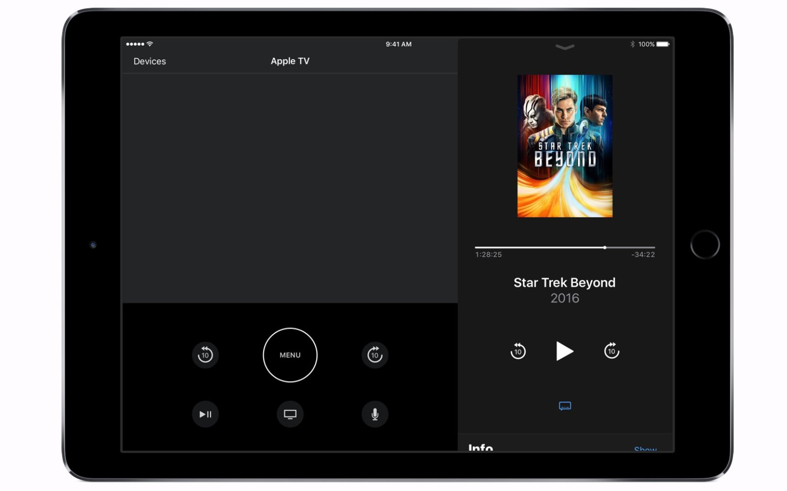 a6cdcda0878 Apple TV Remote app updated with iPad support, enhanced Now Playing, more