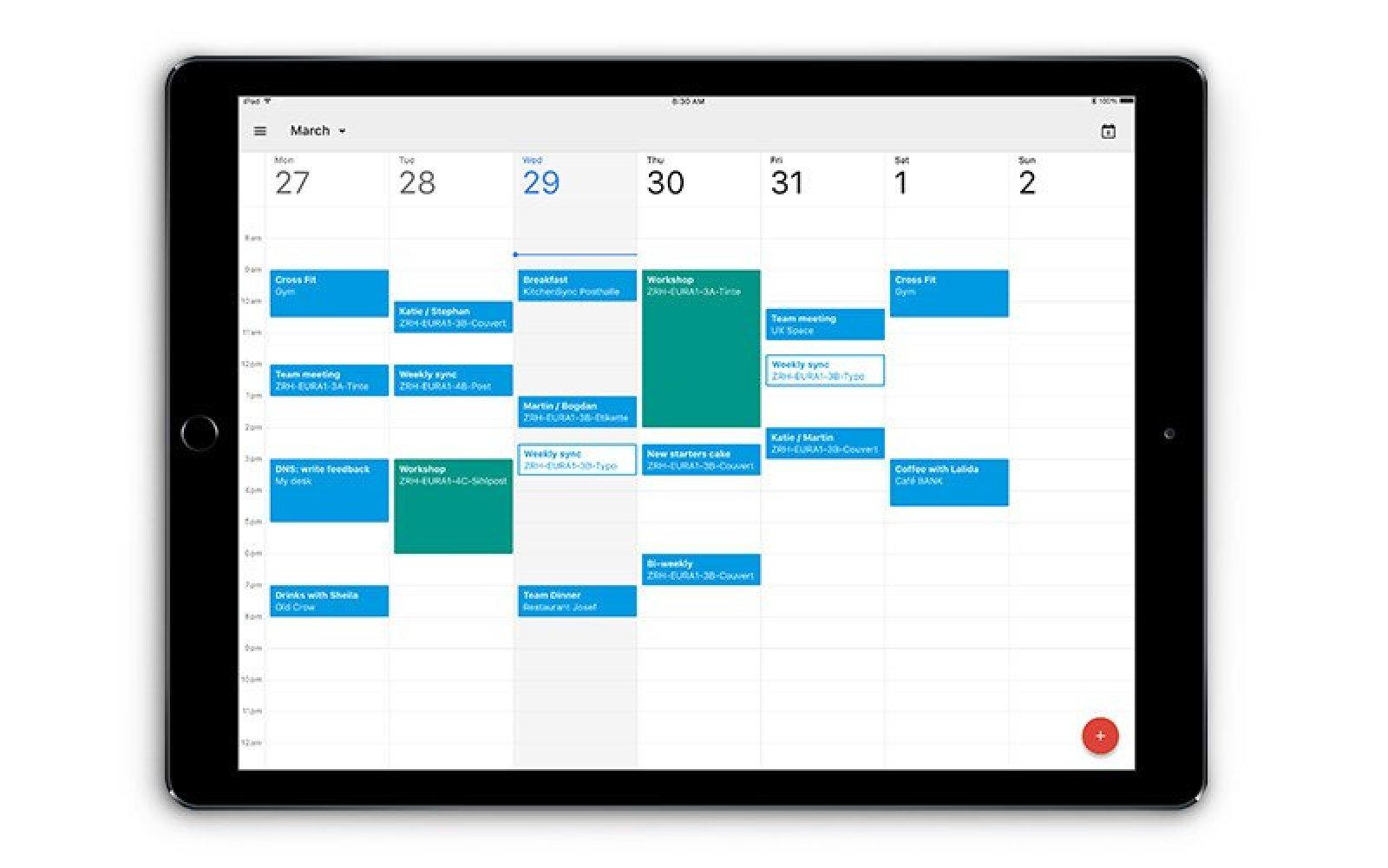 Google finally releases Calendar app for iPad