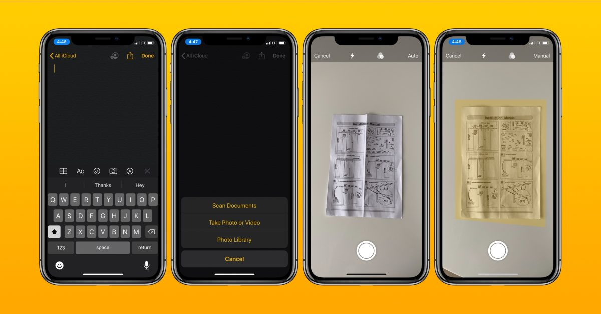 iOS: How to scan documents with the Notes app - 9to5Mac