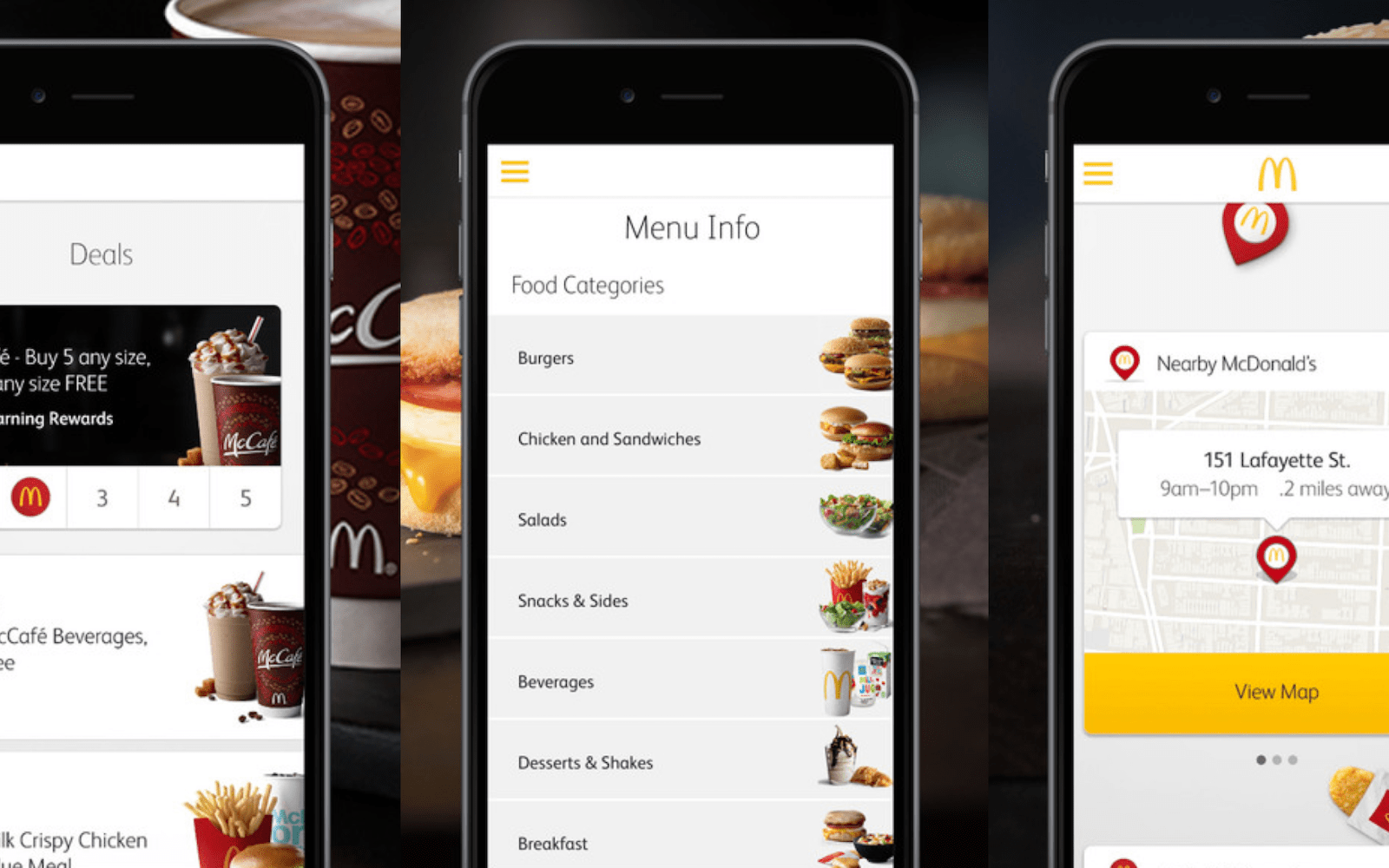 McDonald\'s says new mobile ordering app will be location-aware ...