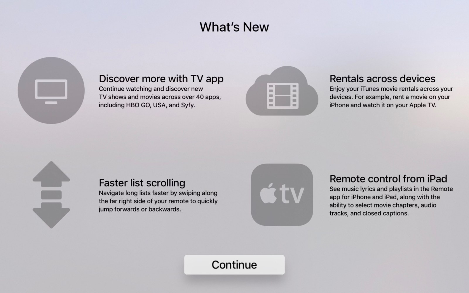 tvos 10.2 beta hints at upcoming apple tv remote for ipad, other new