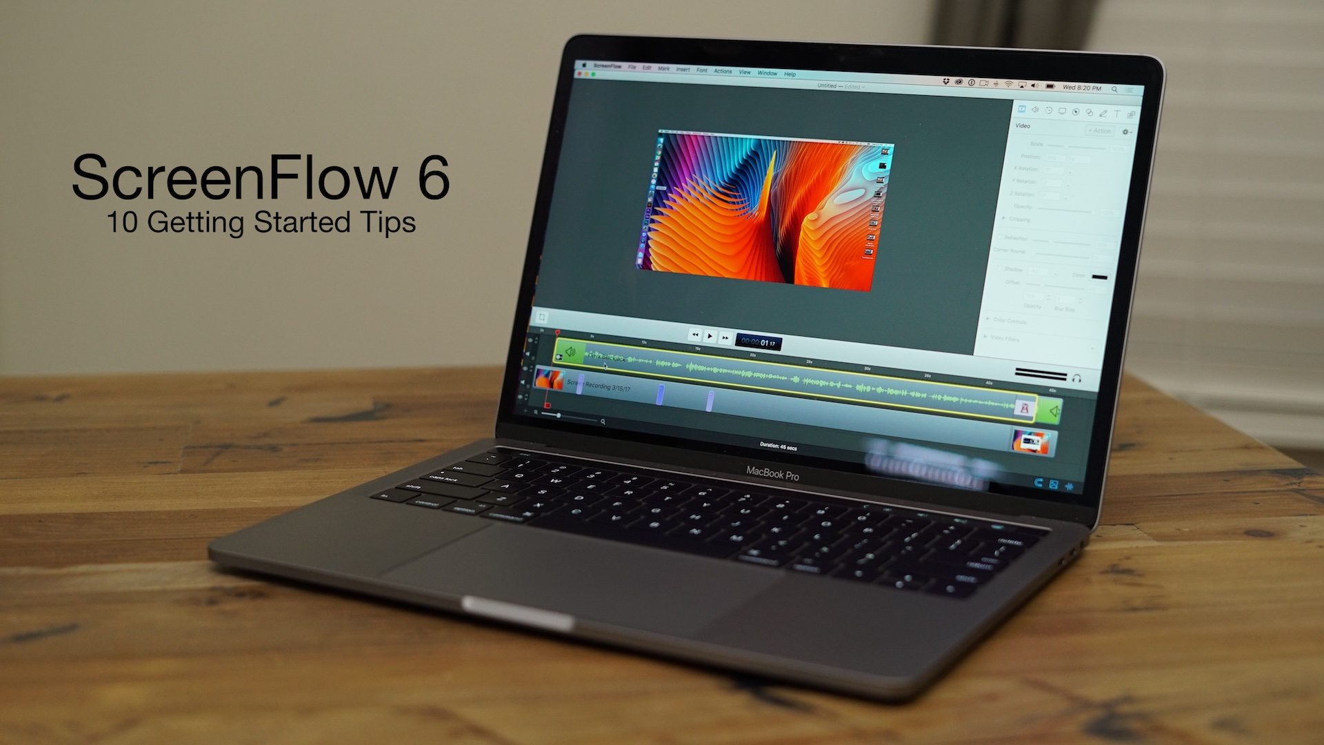 How to record video from the monitor screen. Advice