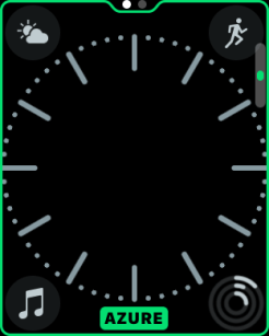 watchOS 3.2 watch face colors 3