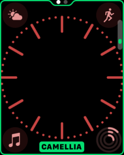 watchOS 3.2 watch face colors 4