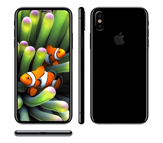iPhone 8 render based on leak