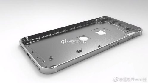 iPhone 8 chassis weibo 3