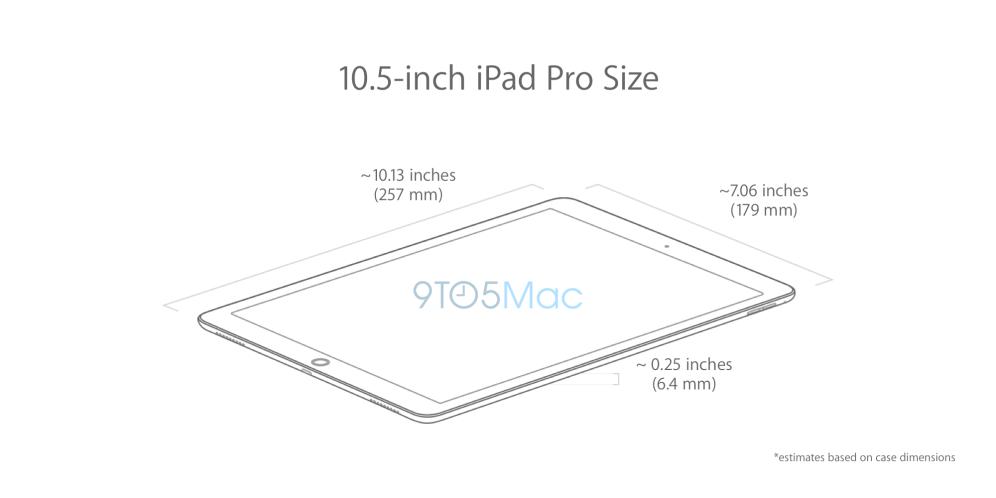 10.5-inch iPad Pro Dimensions