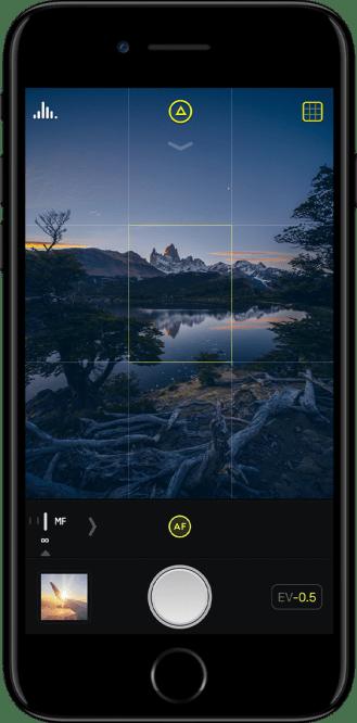 Halide iPhone app 1